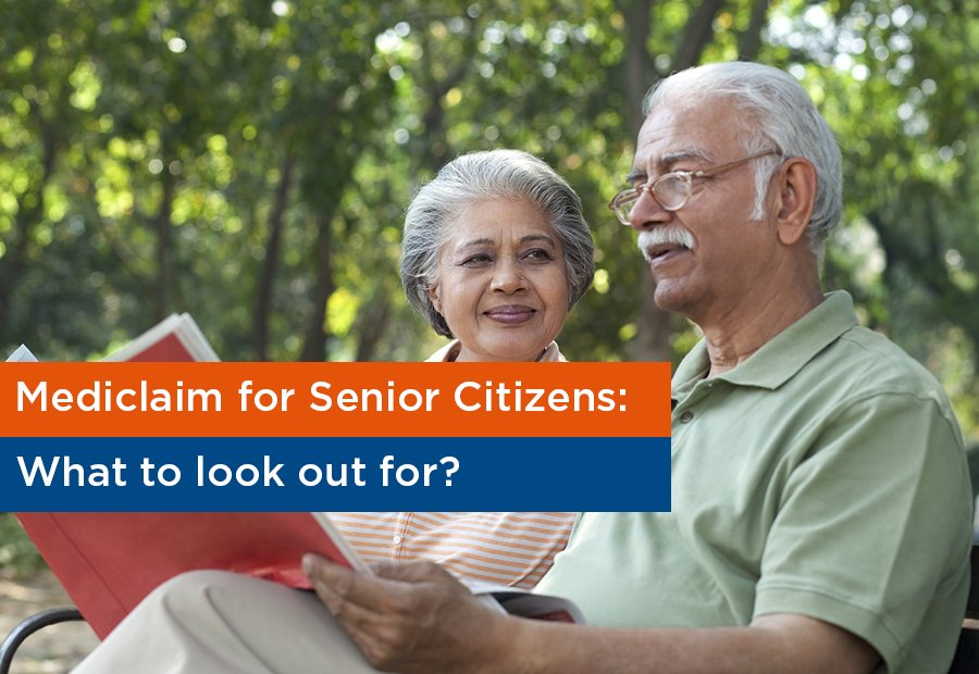 Image Represents the mediclaim for senior citizens concept